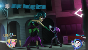 [SFM/Gmod] Juniper Montage Demon by Sindroom
