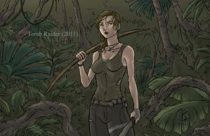 Tomb Raider 2011 by shrouded-artist