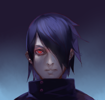 Sasuke by watermelonapple