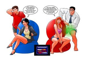 TLIID 88:Peter and Lois and Clark and MJ, wifeswap by AxelMedellin