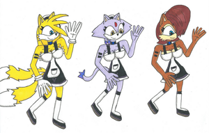 Request Happy Maids by Power1x