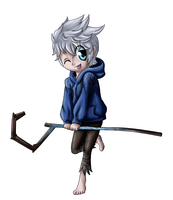 chibi Jack Frost by Sofua