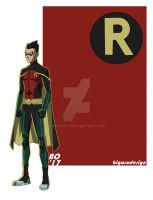 Teen Titans Robin by bigoso91