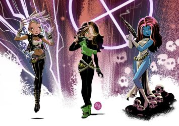 2 80s X-Gals and a Villain by mikemaihack