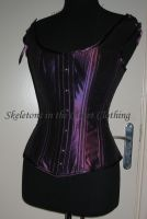 Vixen corset, with straps by BlackvelvetSITC