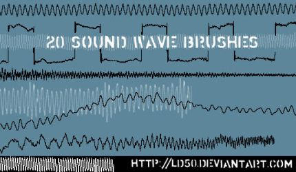 Sound wave brushes by LD50-