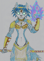 Krystal: Spiritual Energy (with 'cool effects') by DestinySpider