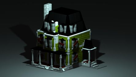 Lego house by JaneSerenityWolf