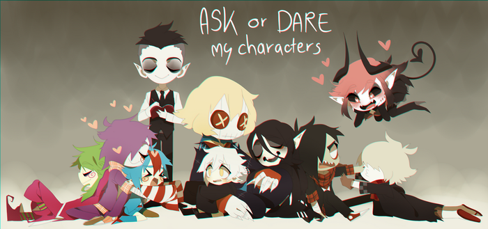 Ask or Dare! by Pyro-Zombie