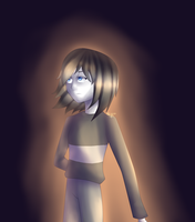 Anty Glitch Frisk by StoileArt