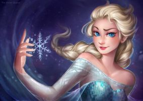 . FROZEN - Ice soul . by Amelion