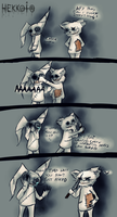 Important question comic by Hekkoto