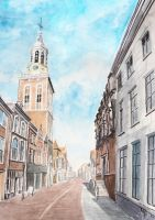Old Town Street by Entar0178