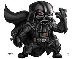 Lil Dude Vader by MARR-PHEOS