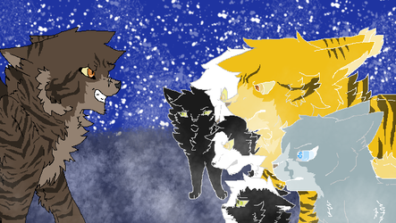 'You're denied' Tigerstar-StarClan AU\Rant by Skatland