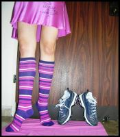 Running shoes aside 3 by BubblingLittleJoy