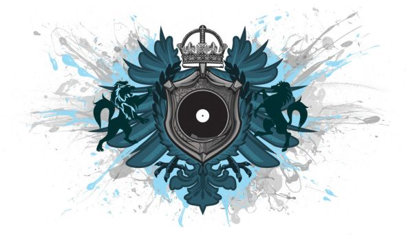 Record Heraldry Blue by stoutlab