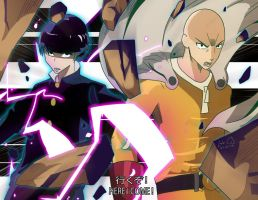 One Punch Mob by siijey