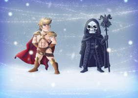 He-Man for Sonja and Janine by ryodita