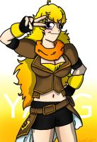 RWBY: Yang by SaintsSister47