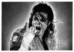 Michael Jackson - Commission by ceres86