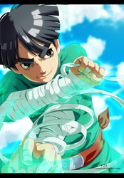Rock Lee by The-103