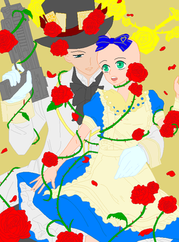 Madhatter x you - Base by Pixeliina