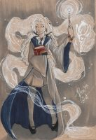 Luna Lovegood of Ravenclaw House by TopazTigerCreations