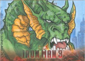 Fin Fang Foom by DKHindelang