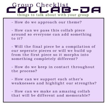 Group Checklist by collab-da