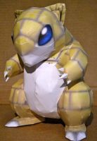 Sandshrew by jewzeepapercraft
