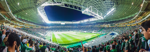 Panoramica Allianz Parque Palmeiras x SP by Panico747