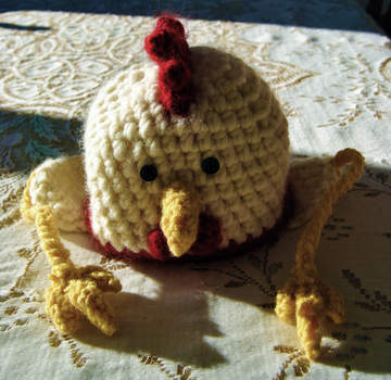 Chicken Hat by mbqlovesottawa