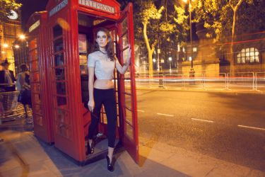 A Night Out In London Town by BlackCarrionRose