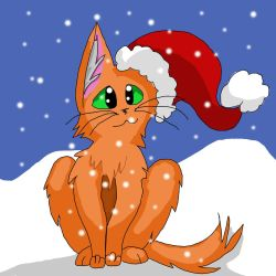 Firestar is ready for Christmas, version 2.0 by Winter-Sky529