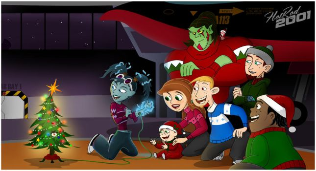 Christmas With The Crew by hotrod2001