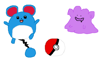 Late night pokemon doodles by Crazilily
