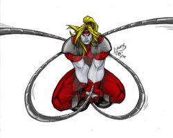 Omega Red EVOLUTION COLORED by LucasAckerman