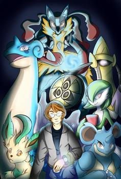 Pokemon X Nuzlocke: Team by Skay08978