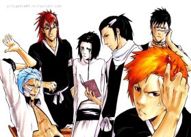 BLEACH: Hairstyles by Sideburn004