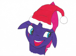 Tempest isn't so sure about this Christmas thing.. by Fizzban08
