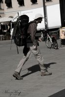 Traveler [Street Life Series] by iMehnaz