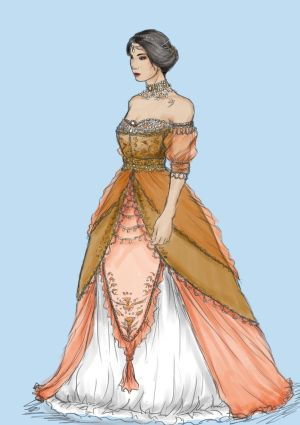 nobility costume design #1 by Sempern0x