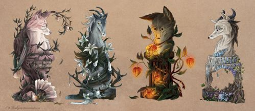 ych chess pieces 1 by busbyart