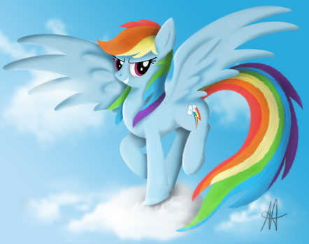 -MLP-  Higer than clouds by Ardas91