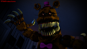 HectorMKG's Nightmare Fredbear in SFM by TF541Productions