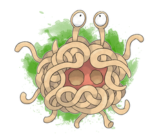 FKMN Commission - Tangela (Spaghetti Form)
