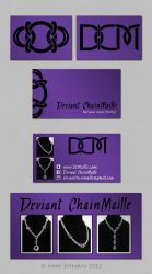 deviant chainmaille card by ftourini
