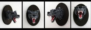 Little Big Game Trophy Wolf by Psydrache