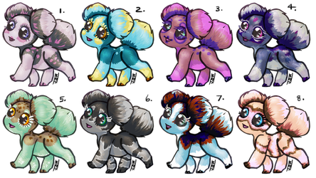 Asteroid Puppies 2018! OPEN! by Jesseth